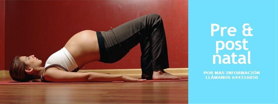 Pre-natal pilates classes eixample