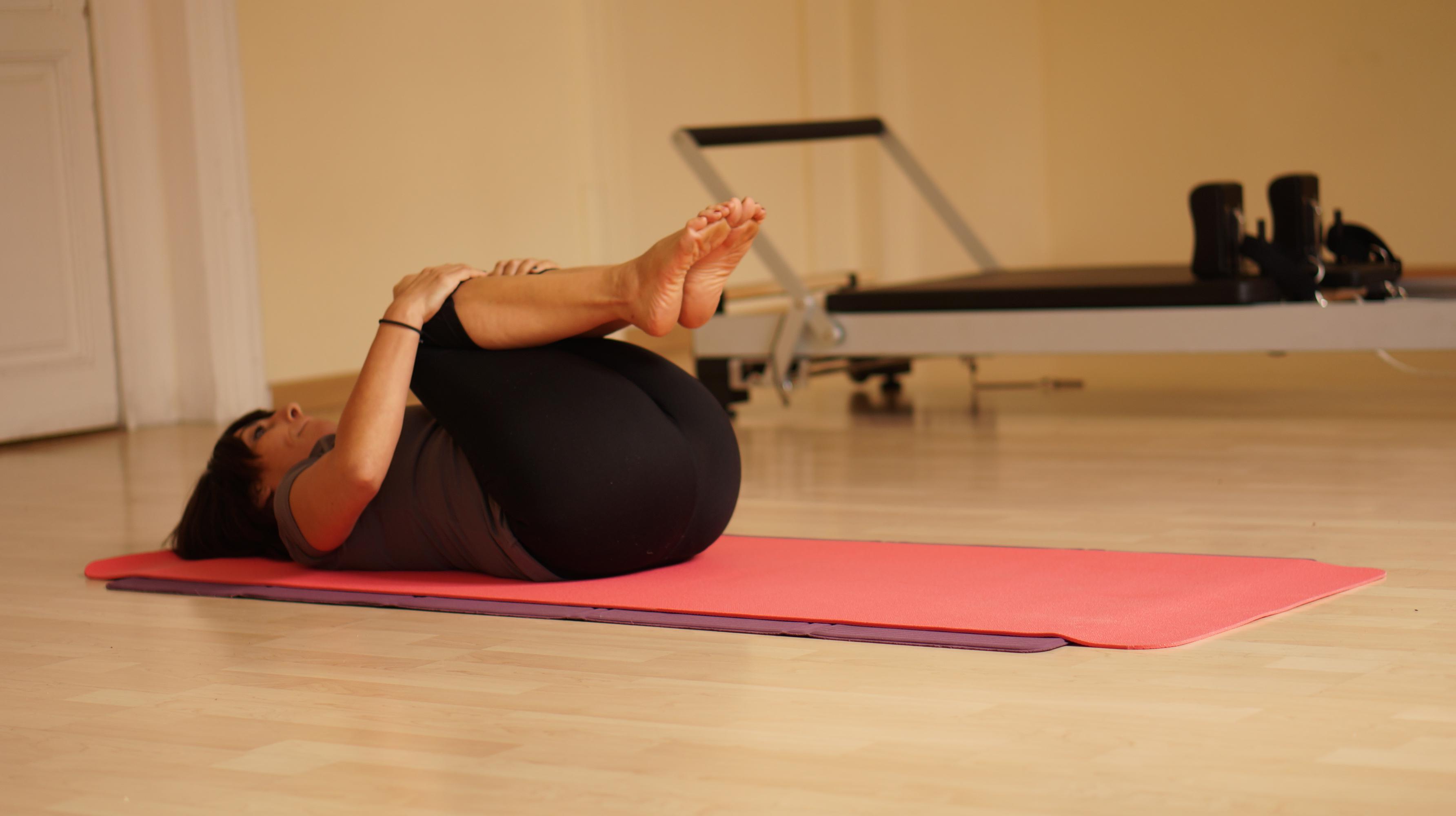 pilates rest pose barcelona