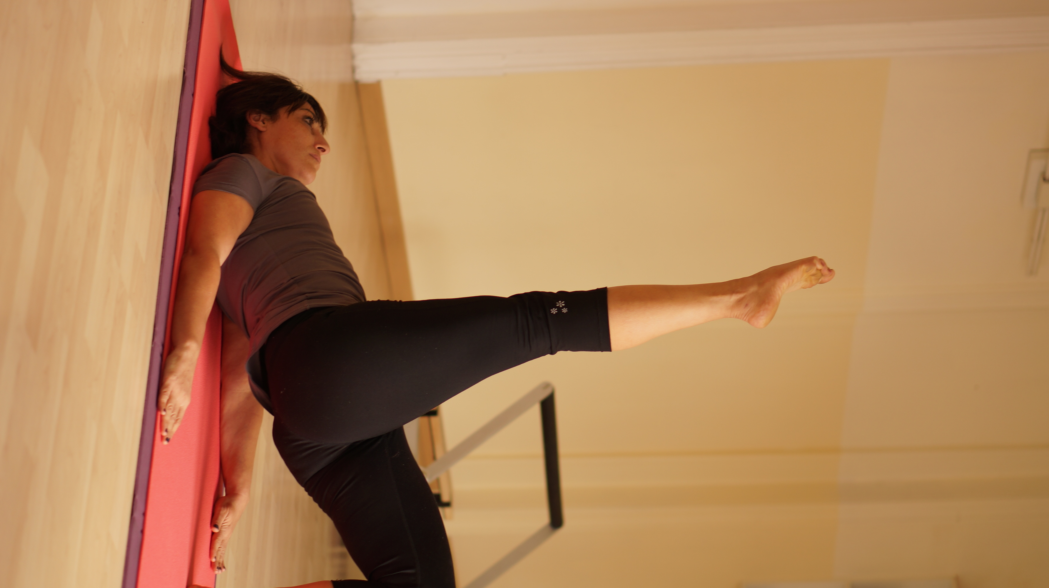 Pilates increases muscle strength