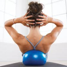 Pilates Stability ball classes in Barcelona