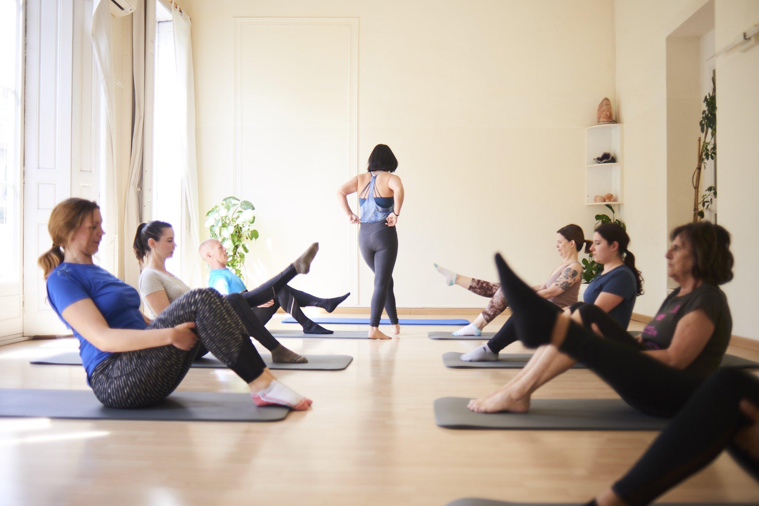 Pilate's abdominal exercises for pregnancy